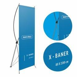 X-baner  80x180